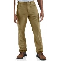 carhartt flannel lined washed twill dungaree - mens — 7 models