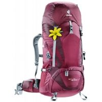 5848d7c3c2 Deuter ACT Lite 45 + 10 SL Backpack-Blackberry Aubergine — CampSaver