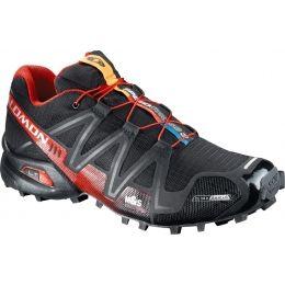 salomon speedcross 3 cs running shoes black