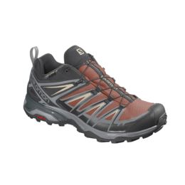 Hombre rico Íntimo Amedrentador  Salomon X Ultra 3 GTX Hiking Shoes - Mens, Burnt Brick/Black — Mens Shoe  Size: 11, Gender: Male, Age Group: Adults, Mens Shoe Width: Medium, Heel  Height: 26 — L40987200-11
