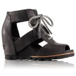 sorel joanie lace up sandals
