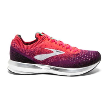 Aster//Purple//Blue Brooks Womens Bedlam Running Shoes