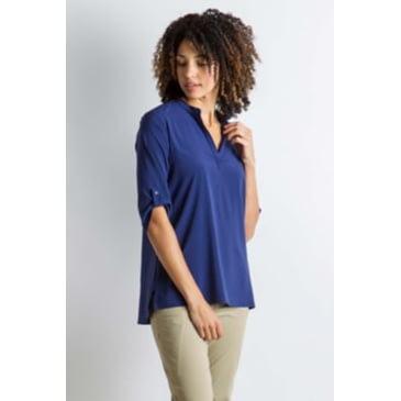 ExOfficio Womens Wanderlux Casual 3//4 Sleeve Shirt