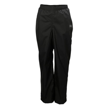 990 Black Helly Hansen Juniors /& Kids Dubliner Pant Breathable Waterproof Windproof Rain Trousers Size 16