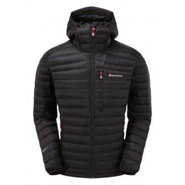Montane Mens Featherlite Down Micro Jacket Top Navy Blue Sports Outdoors Full