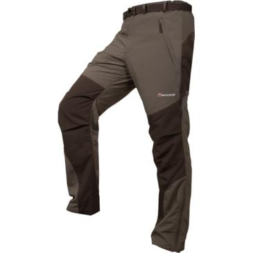 Large 34in Montane Mens Terra Pants Regular Leg Baltic Blue