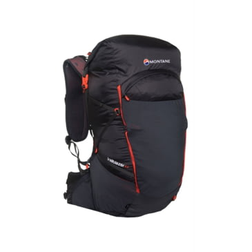 Montane Mens Trailblazer 44 Backpack Black Sports Outdoors Breathable