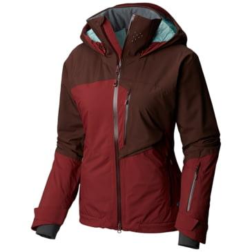 Mountain Hardwear Vintersaga Insulated Jacket Womens Zinc Medium