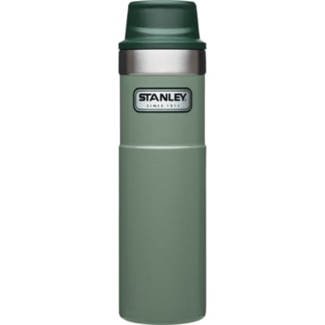 Hammertone Green//Nightfall Stanley 20 oz Trigger-Action Travel Mug Twin Pack