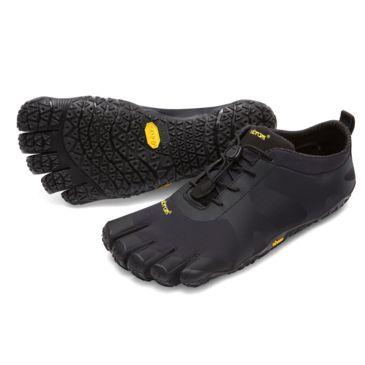 Vibram Womens V-Alpha Black Hiking Shoe Womens 8