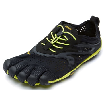 40.5 EU Black Yellow Purple Vibram FiveFingers V-Run Chaussures de Running Femme
