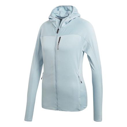 matrimonio Que Delicioso  Adidas Outdoor Terrex Tracerocker Hooded Fleece Jacket - Women's ...
