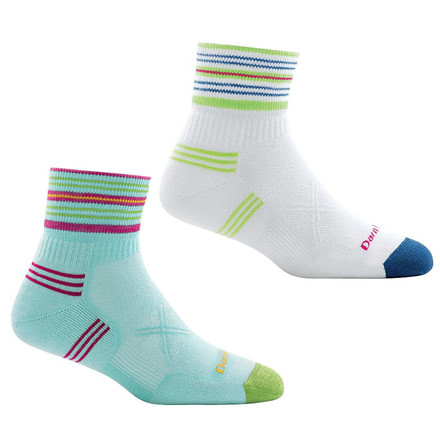 Darn Tough Stripe 1//4 Ultralight Sock Womens