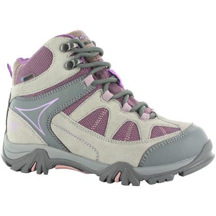 LADIES HI-TEC ALTITUDE VI LITE MID GREY//PURPLE WATERPROOF HIKING WALKING BOOTS