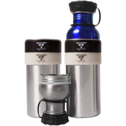 Seattle Sports 088002 H2Duo Two-Part Bottle