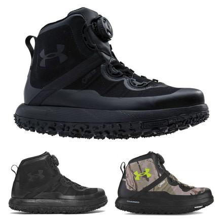 Under Armour Fat Tire GTX Ridge Mens Hiking Boots Reaper Camo//Black 1262064-900