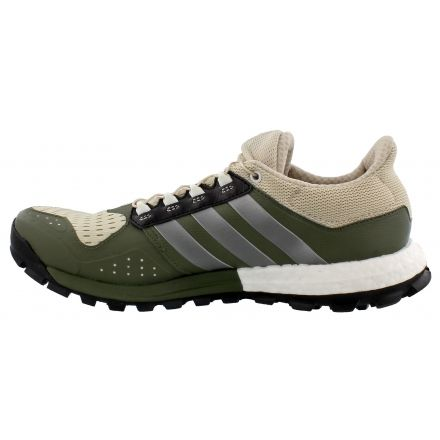 Adidas Outdoor Adistar Raven Boost Trail Running Shoe - Men's-Brown/Iron/ Green
