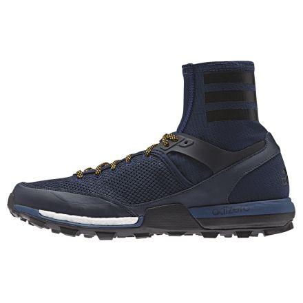 meet d92d8 11c22 Adizero XT 5 Boost Trail Running Shoe - Mens-Navy Black Gold-