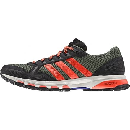 new concept acea6 1cbf9 Adidas Outdoor Adizero XT 5 Trail Running Shoe - Men s-Base Green Solar Red