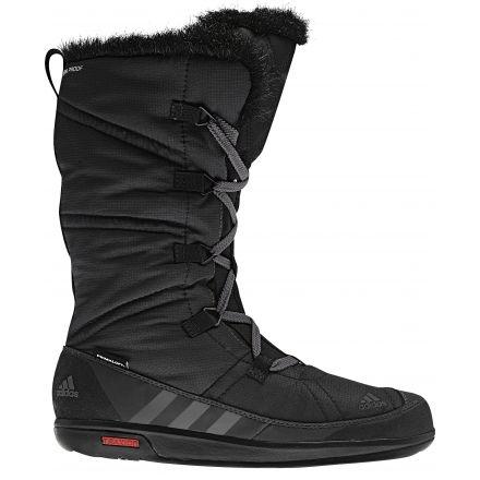 Adidas Outdoor Choleah Laceup CP Primaloft Winter Boot - Women s -Black Grey-Medium 0ff6e1f42b