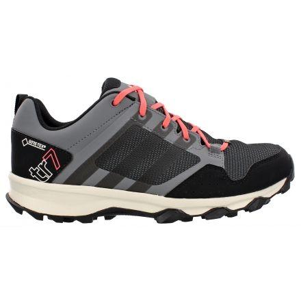 Adidas Outdoor Kanadia 7 Trail GTX Trail Running Shoe - Women's-Grey/Black/