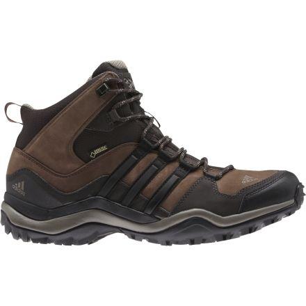 18e05823f0f4 Adidas Outdoor Kumacross Mid GTX Leather Hiking Boot - Men s-Espresso Black  Brown