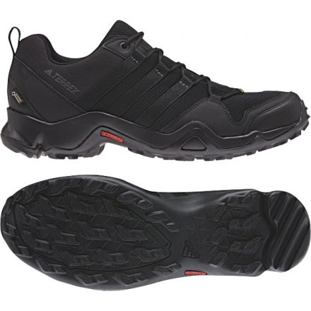 huge discount 7d7d6 704c3 Adidas Outdoor Mens Terrex AX2R GTX Hiking Shoes, BlackBlackGrey Five,