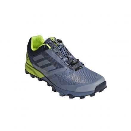 new concept a7ebd 21587 Adidas Outdoor Men s Terrex Trailmaker Trailrunning Shoes, Raw Steel Grey  One Solar Slime