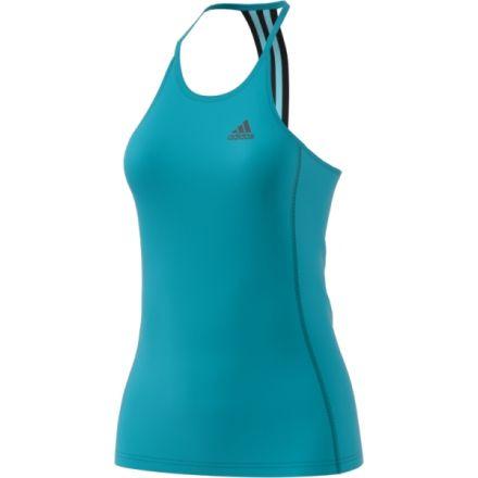 b91ceb6651059 Adidas Outdoor Performance Step Up Tank - Women s-Energy Blue Black-Large