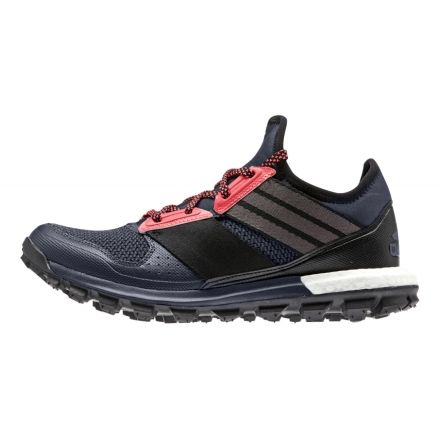 on sale 257fd 7e7ec Adidas Outdoor Response Trail Boost Trail Running Shoe -  Womens-Grey Black Red