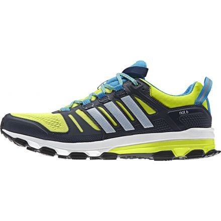 8a083bc6f78a5 Adidas Outdoor Supernova Riot 6 Trail Running Shoe - Mens-Yellow White Navy