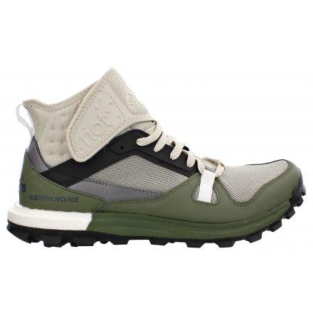 41045287a Adidas Outdoor Supernova Riot Boost Trail Running Shoe -  Men s-Brown Black Green