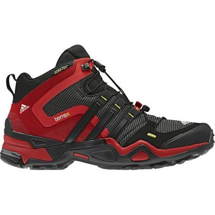 3a38d283170cca Adidas Outdoor Terrex Fast X Mid GTX-Sharp Grey Black Vivid Red-