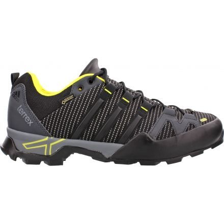 cfc4616339d266 Adidas Outdoor Terrex Scope GTX Approach Shoe - Men s-Dark Grey Black Grey