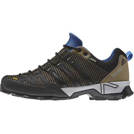 e5017c0267f223 Adidas Outdoor Terrex Scope GTX Approach Shoe - Men s-Earth Black Blue-