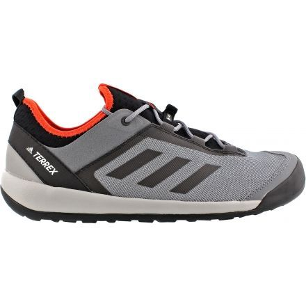 newest 294be c689c Adidas Outdoor Terrex Swift Solo Approach Shoe - Mens-Vista GreyChalk  White