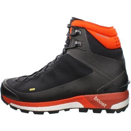 Adidas Outdoor Terrex Ultimate Boost CH Winter Shoe - Men's-Black/Orange -Medium