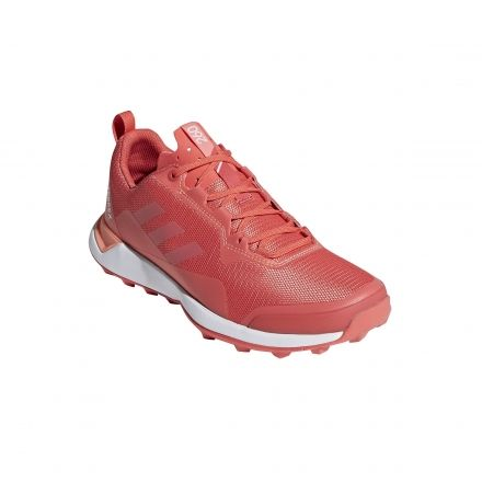 best sneakers 73d12 ec7d5 Adidas Outdoor Womens Terrex CMTK Trailrunning Shoes, Trace ScarletWhiteChalk  Coral,