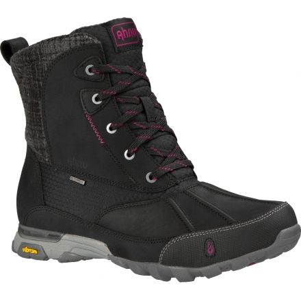 Ahnu Sugar Peak Insulated Waterproof Winter Boot - Women's-Black-Medium-6