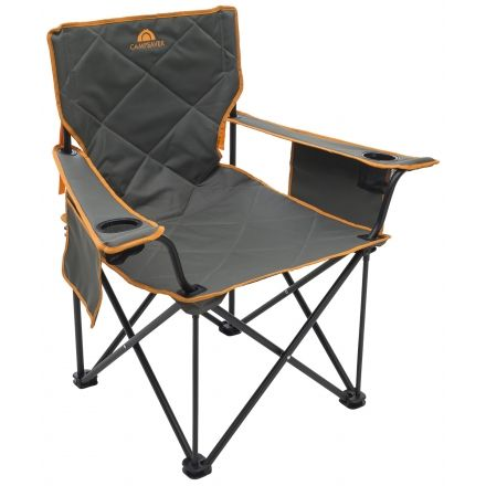 Alps Mountaineering Campsaver King Kong Chair, Dark Gray/Bright Orange, One  Size,