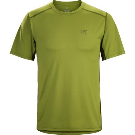 0cedc6b18 Arc teryx Ether Crew Short Sleeve Shirt - Men s-Gator-Small