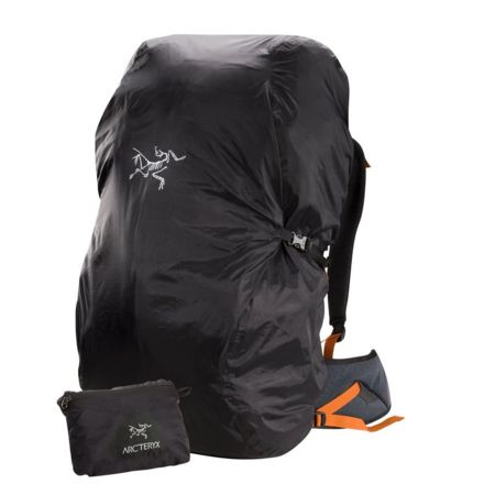 fcee949241b Arc'teryx Pack Shelter, Black, Extra Small, 79989