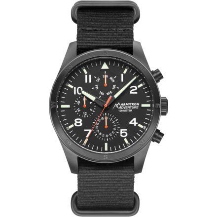 08d40ce29 ARMITRON ADVENTURE Analog Watch With Black Nato Slip-thru Strap ...