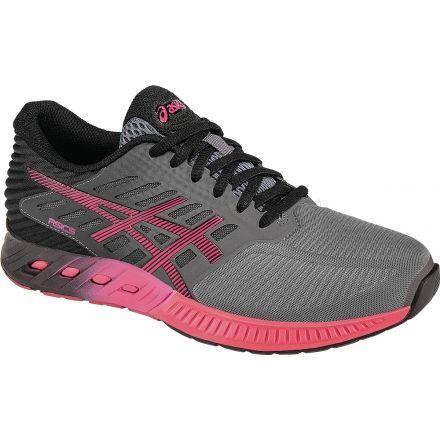 FuzeX Road Running Shoe - Womens-Titanium/Azalea/Black-Medium-6.5