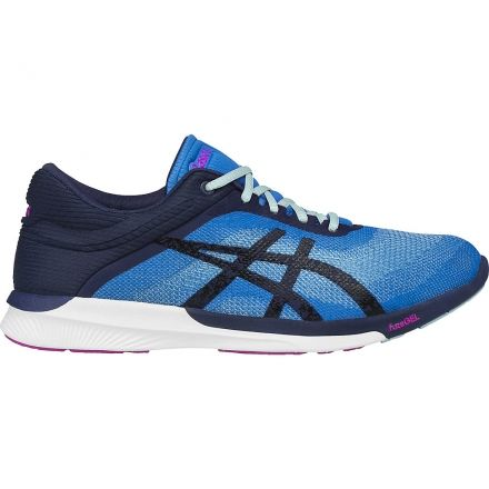 a67166a956f4 Asics FuzeX Rush Road Running Shoe - Women s-Diva Blue Blue White-