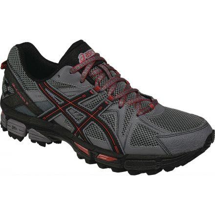 Gel-Kahana 8 Trail Running Shoe - Mens-Shark/Black-Medium-