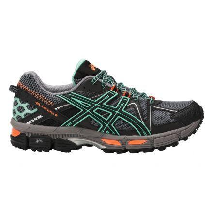 Asics Gel-Kahana 8 Trail Running Shoe - Women's-Black/Ice Green/