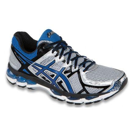 797aee664342 Asics Gel-Kayano 21 Road Running Shoe - Men s-Lightning Royal Black