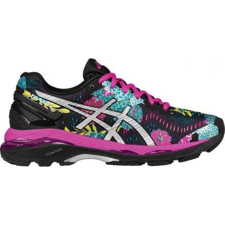 751db97d32ed Asics Gel-Kayano 23 Road Running Shoe - Women s-Black Silver Pink