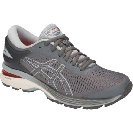 06e458a18 Asics GEL-Kayano 25 Road Running Shoes - Womens, Carbon/Mid Grey,